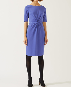 Jigsaw Twisted Waist Detail Jersey Dress