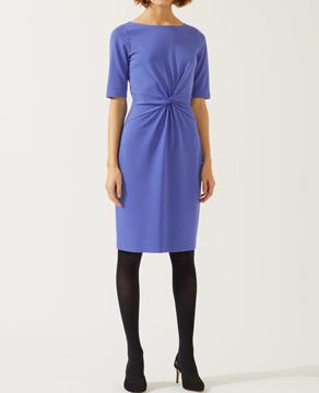 Jigsaw Twisted Waist Detail Jersey Dress