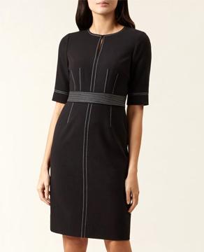 Hobbs Black Faith Dress