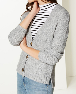 Marks & Spencer Textured Cardigan