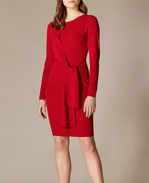 Karen Millen Wrap Waist Dress