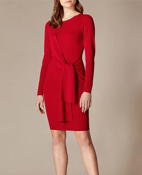 Karen Millen Wrap Waist Dress