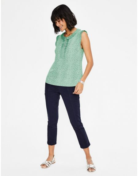 Peggy Top Green Women Boden, Green