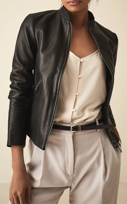 Reiss Leather Jacket