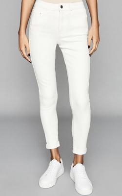 Reiss White Jeans