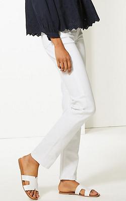 Marks & Spencer White Jeans