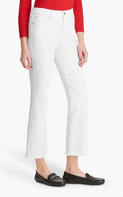John Lewis Ralph Lauren white Jeans