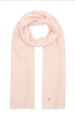 Amanda Wakeley Blush Pink Cashmere Scarf Cruise