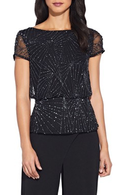 Next Adrianna Papell Embellished Top Cruise