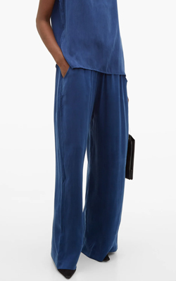 Matches Fashion Cruise Silk Trousers