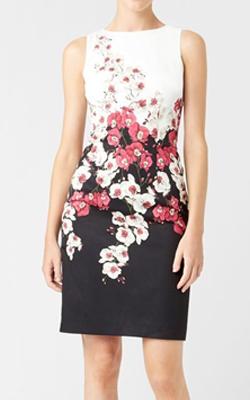 Hobbs Black Moira Dress