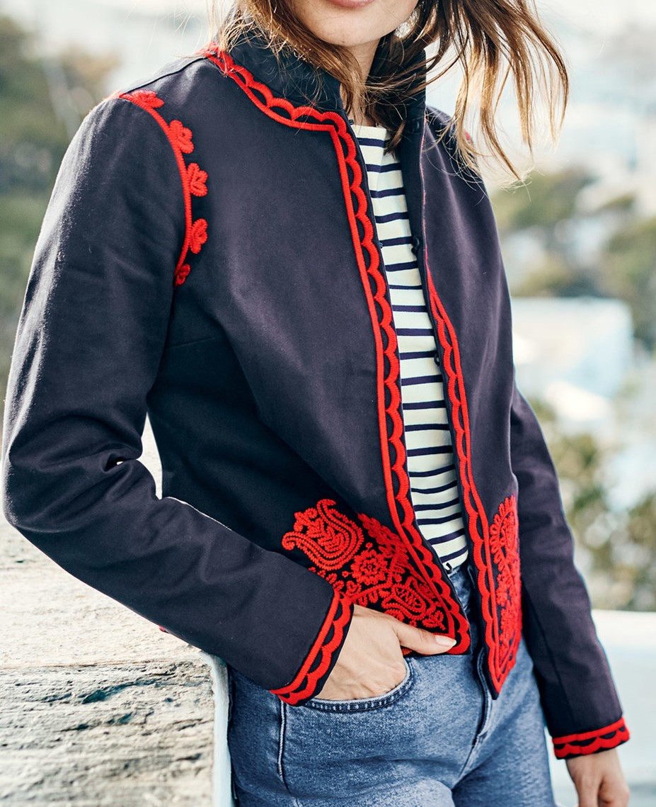Embroidered Boden Jacket for Over 60s