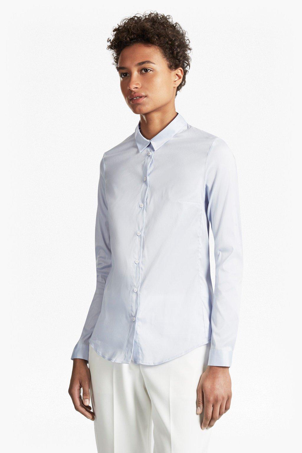 Crisp White Shirt for Over 60s