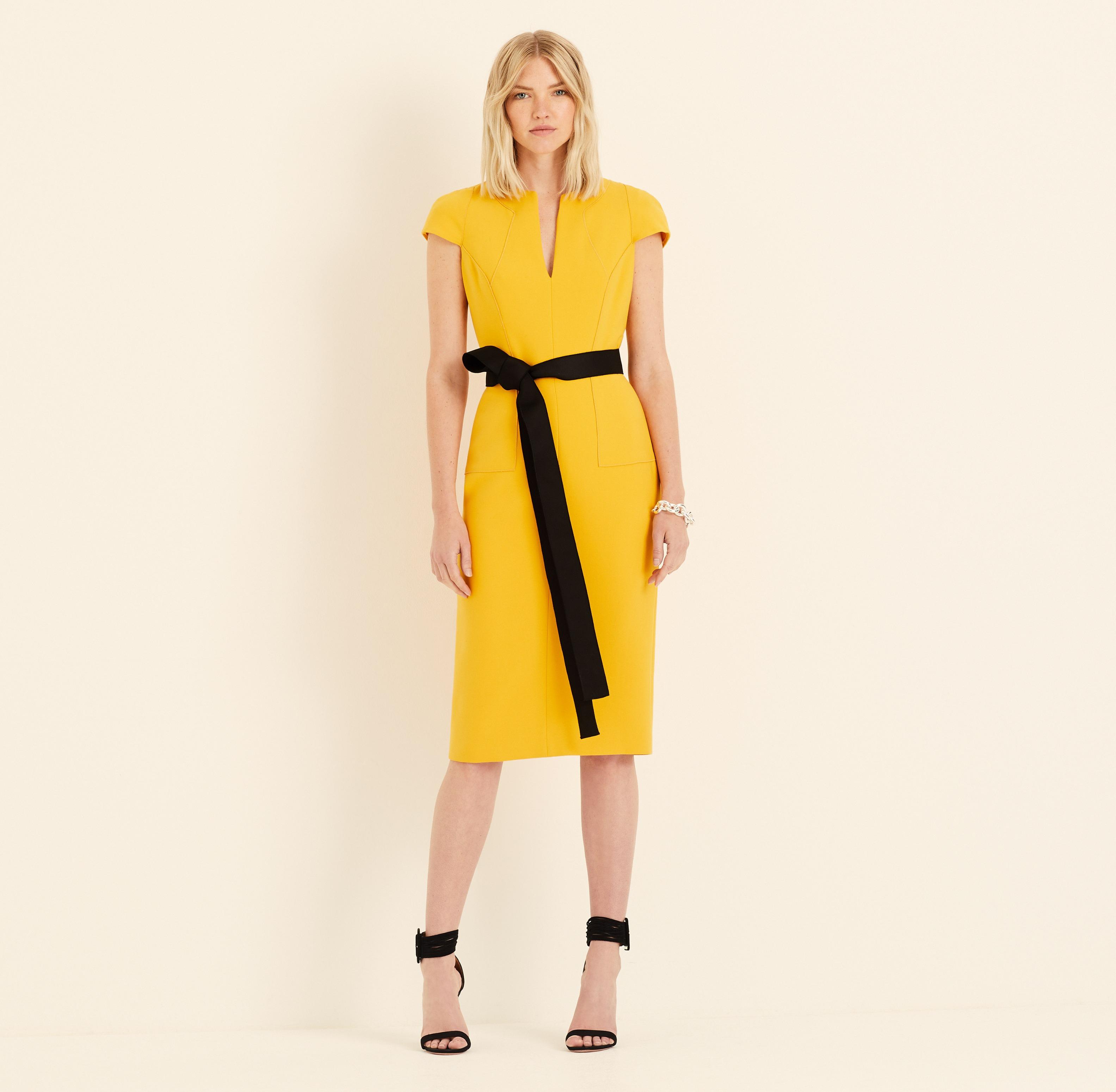 Amanda Wakeley Saffron Shift Dress