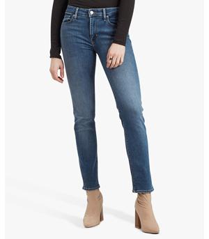 Levi's 712 Mid Rise Slim Jeans