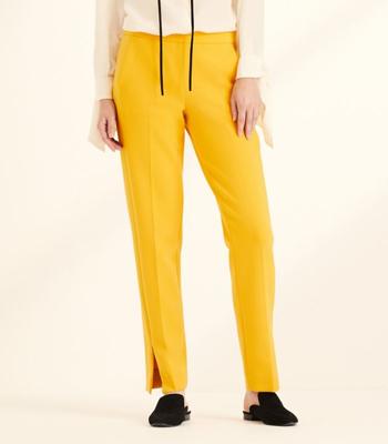 Amanda Wakeley Saffron Slim Leg Tailored Trousers