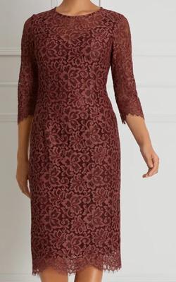 Fenn Wright Manson Petite Lace Dress MotB