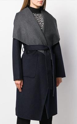 Michael Kors Collar Coat Fashion Week