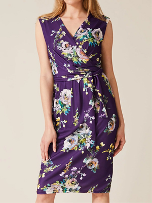 Phase Eight Franchesca Floral Print Dress