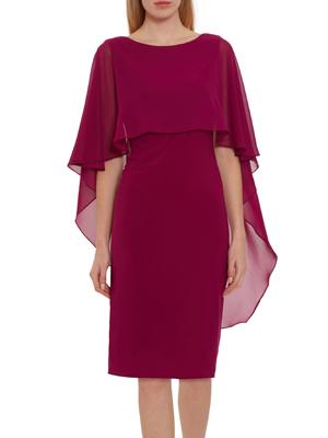Gina Bacconi Plum Purple Dress
