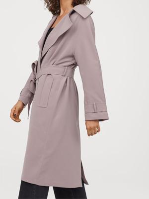 H&M Purple Trench Coat