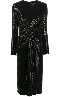 Ralph Lauren Embroidery Midi Dress