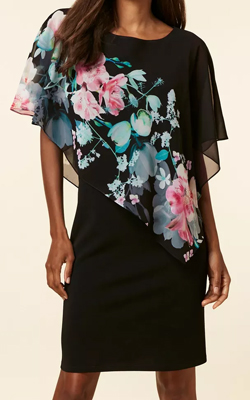 Wallis Petite MotB Overlay Dress