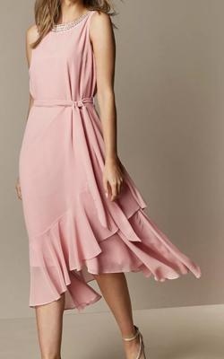 Wallis Petite Pink MotB Dress