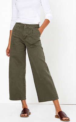 M&S Wide Leg Trousers