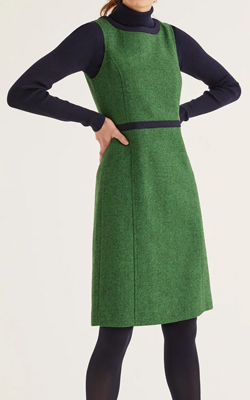 Boden Carrie Tweed Dress Interview