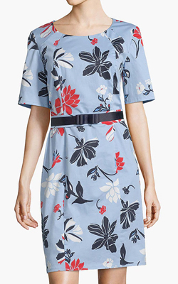 John Lewis & Partners Betty Barclay Shift Dress Interview