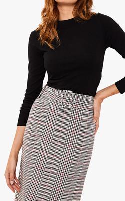 John Lewis & Partners Mint Velvet Skirt Interview
