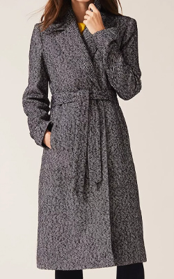 Phase Eight Tess Tweed Belted Coat Interview