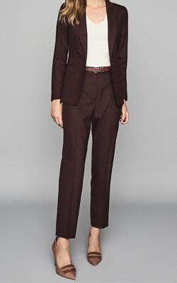 Reiss Blazer Trouser Suit Interview