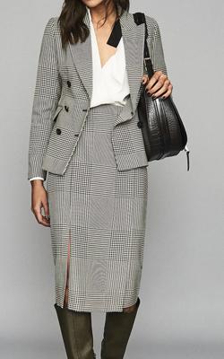 Reiss Skirt Suit Interview