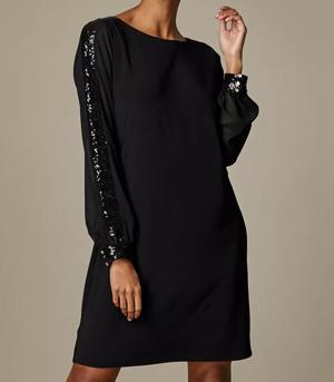 Wallis Puff Sleeve Dress Partywear over 50s