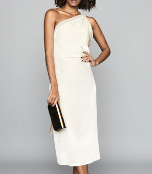 Reiss White Dress Partywear over 50s