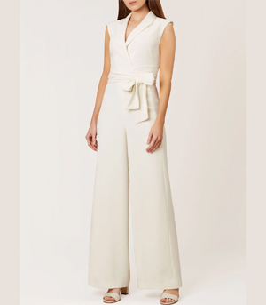 Hobbs White Jumpsuit Partywear over 50s