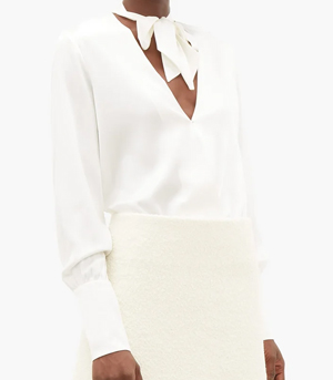 Reiss White Blouse Partywear over 50s
