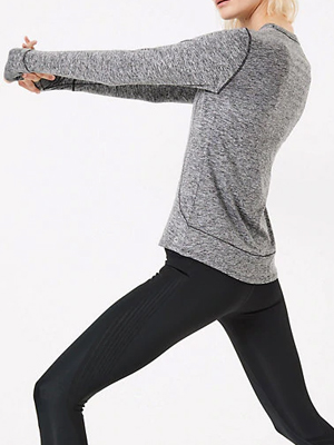 Marks & Spencer Long Sleeve Performance Fitness Top