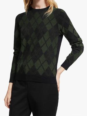 John Lewis Argyle Sweater