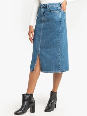 La Redoute Denim Midi Skirt