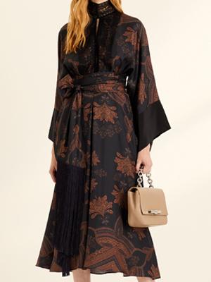 Amanda Wakeley Floral Kimono Dress