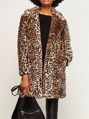 Leopard Coat Linda Robson