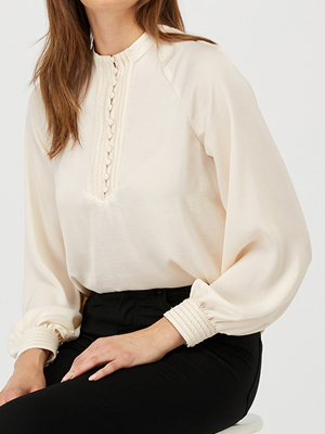 Monsoon Satin Blouse Recycled