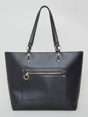 New Look Leather Look Bag