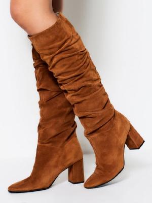 Sosandar Suede Knee High Boots