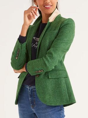 Boden Tweed Blazer 2020 Trends