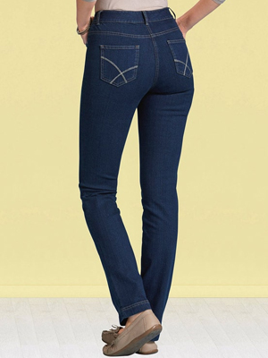 Damart Straight Leg Perfect Fit Jeans