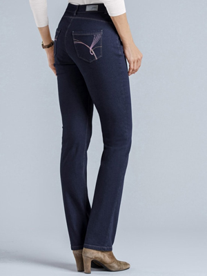 Damart High-Rise Perfect Fit Jeans